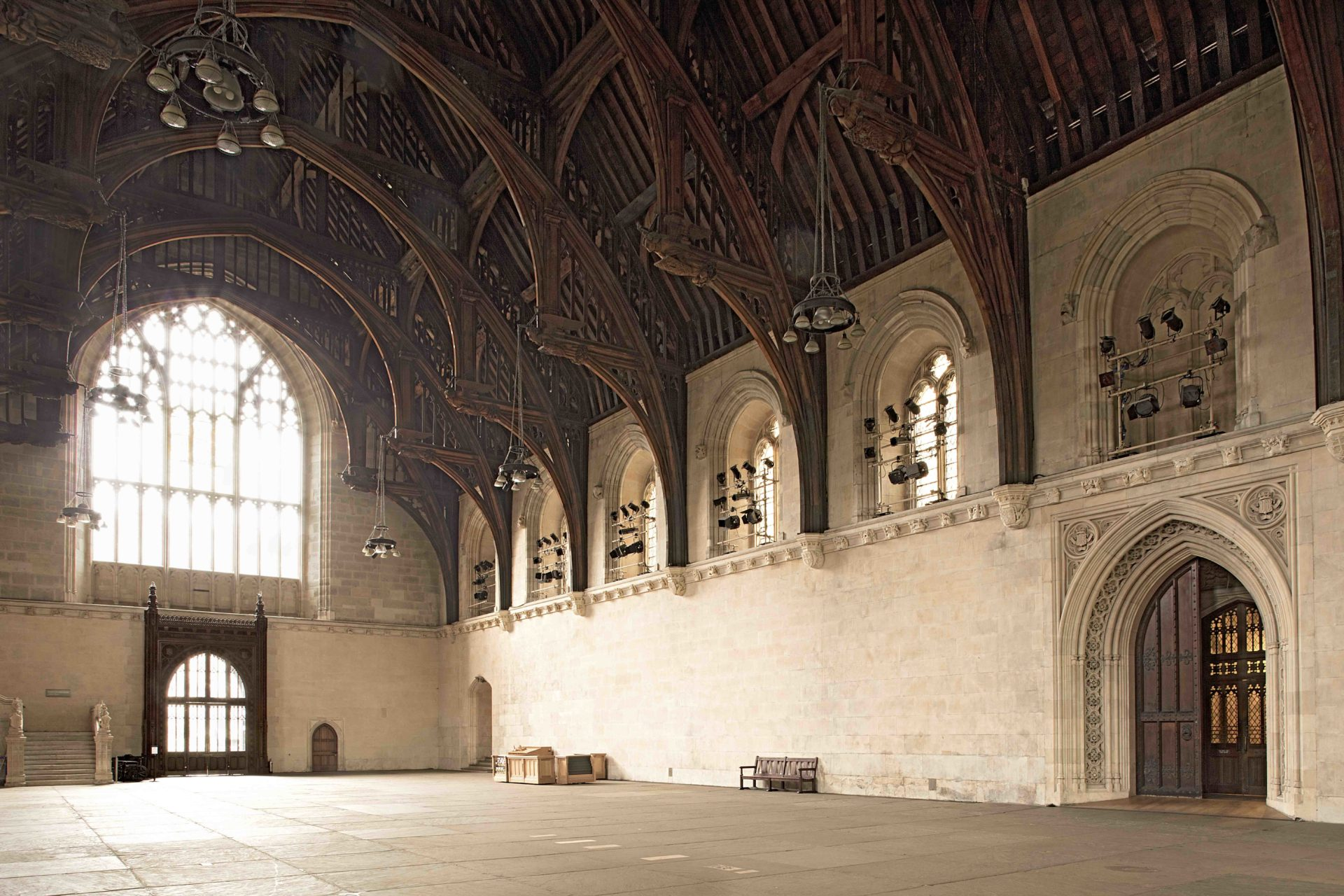 Westminster Hall Refurbishment Scaffolding Commences